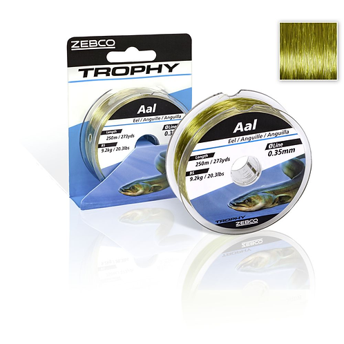 Zebco Trophy Aal Monoschnur 0,35 mm