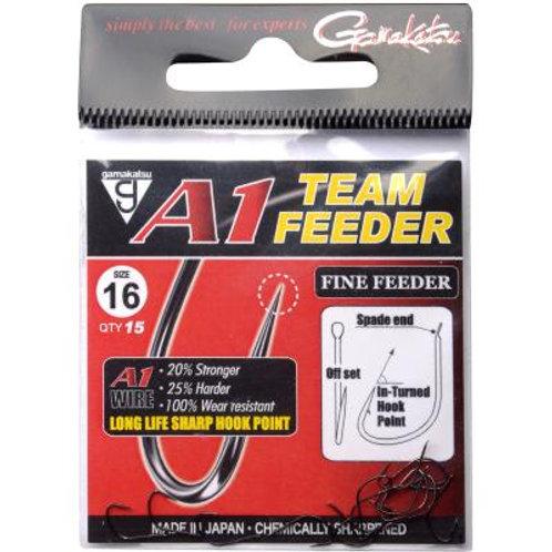 Gamakatsu Hook  A1 TEAM FEEDER FINE FEEDER Gr.8