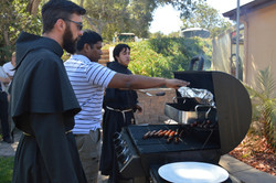 Cookout with the Friars