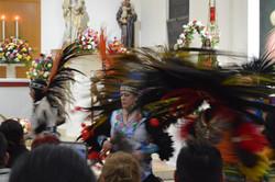 Traditional Aztec dancers