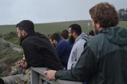 A community studying a community