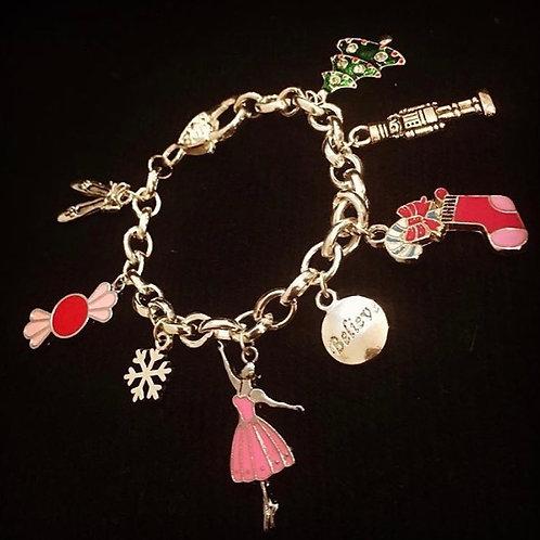 Nutcracker charm bracelet