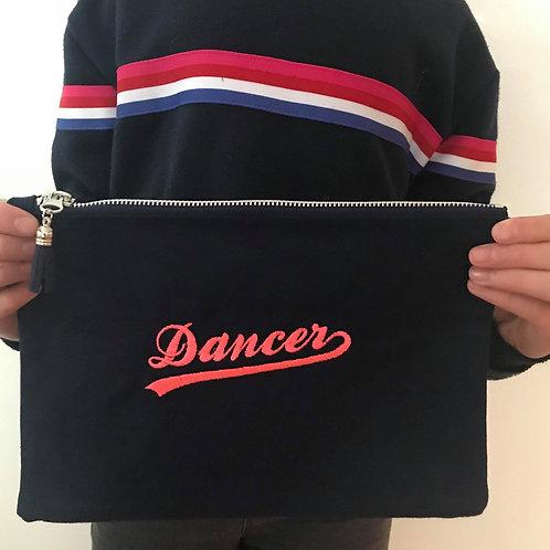 Cosmetic/ shoe  zip bag -DANCER