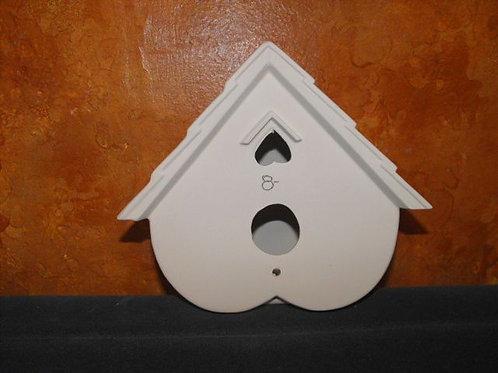 Heart shaped Birdhouse