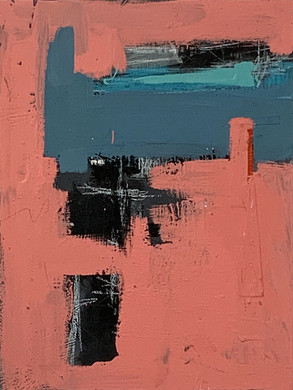 """ABSTRACT #4   12""""x16"""""""