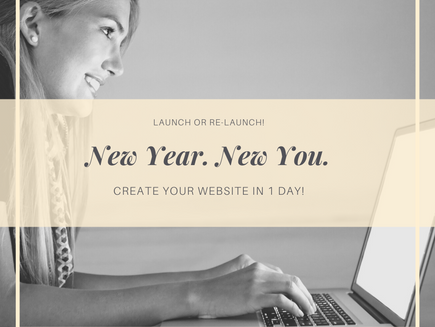 Create Your Website in 1 Day!