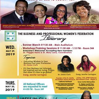 International Women's Convention, Baltimore, MD2019