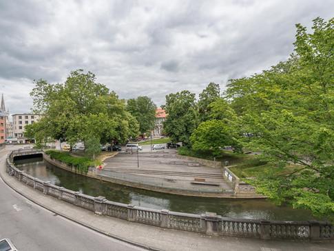 View on the river (Dijleterassen)