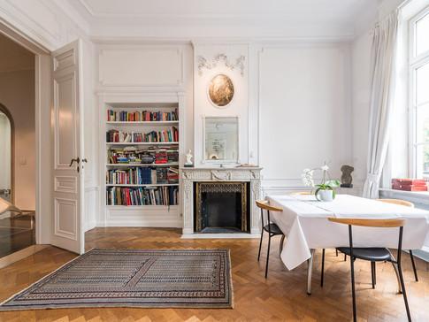 Breakfast room & evening salon
