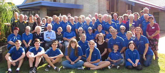 Good Shepherd Sunday parish family photo