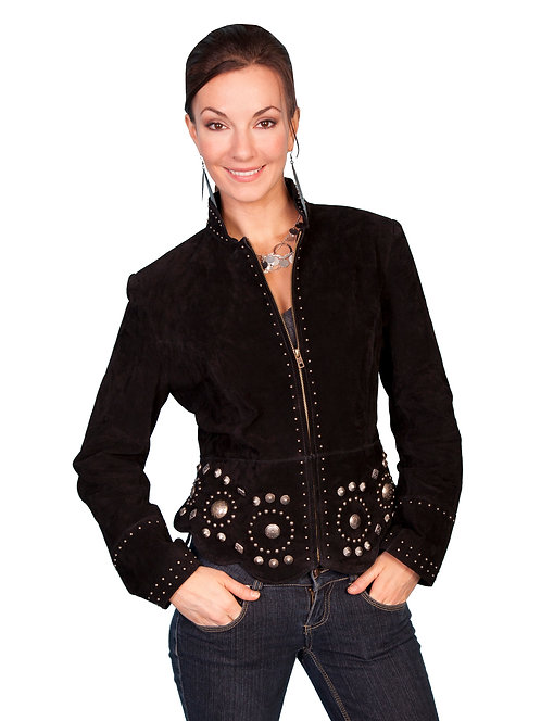 Scully Suede Concho Jacket