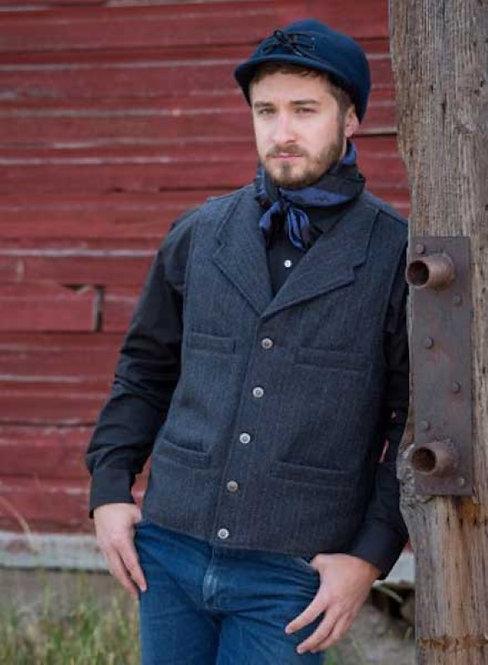 Banker Wool Vest