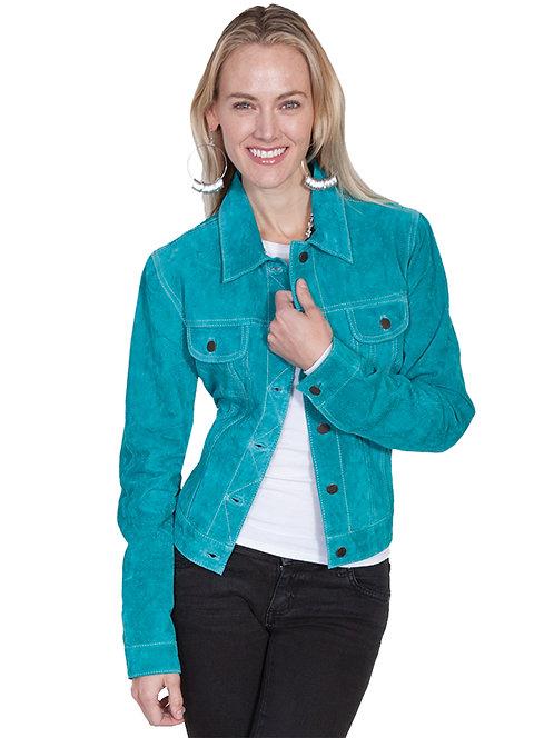 Scully Suede Jean Jacket