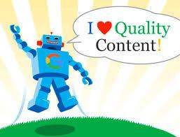 Contenu SEO de qualité sur Google