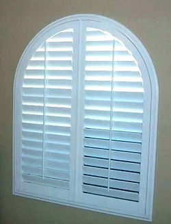 Tilt Rod custom plantation shutters