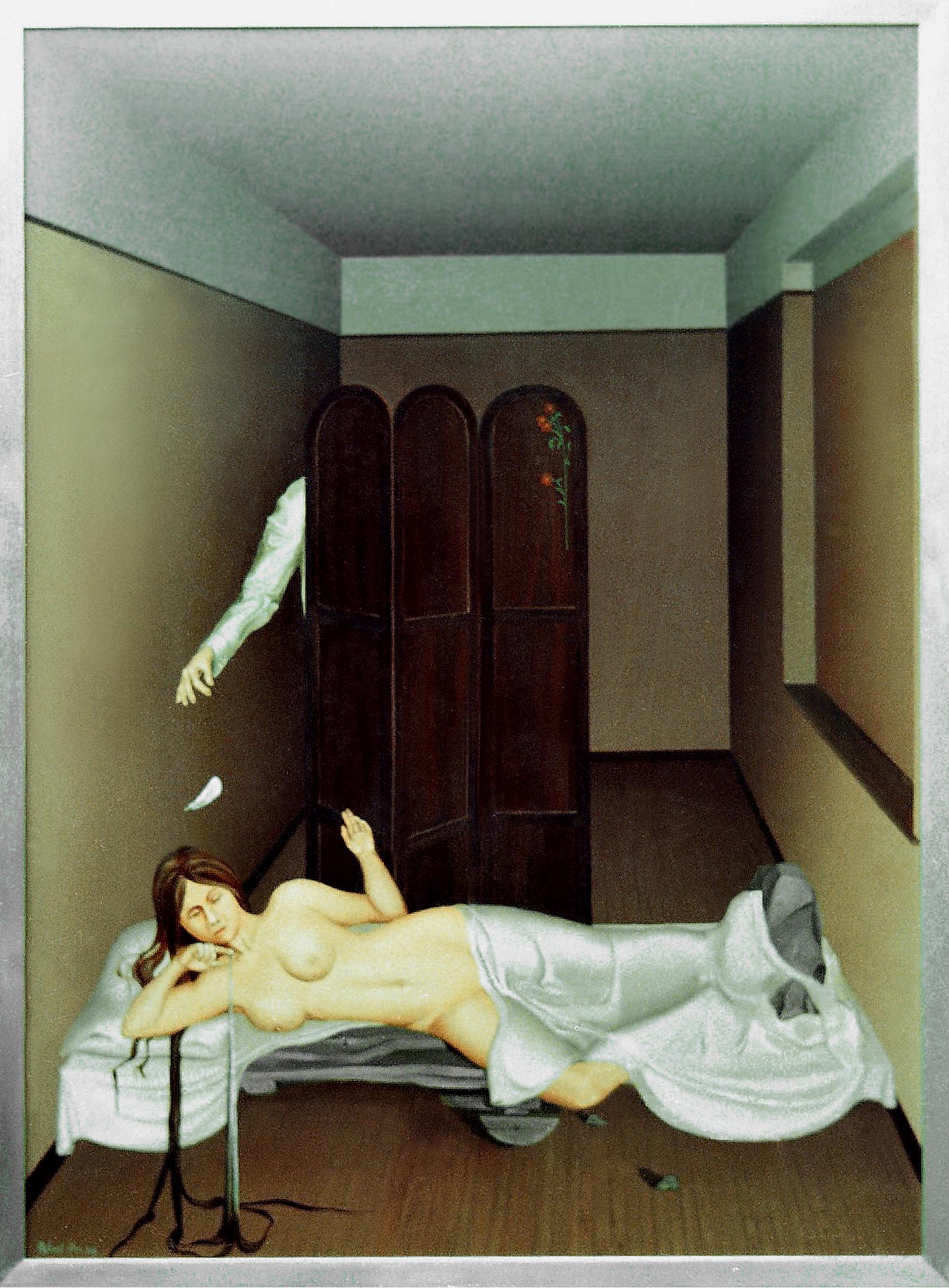 Room V - The Lover. 38 x 17.5 inch