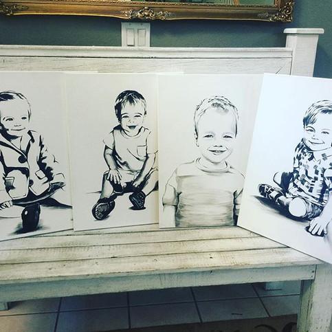modern portraits