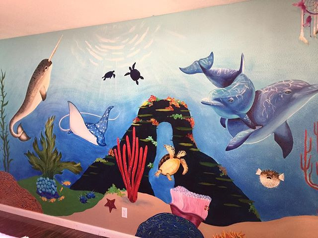 Sea life kids room