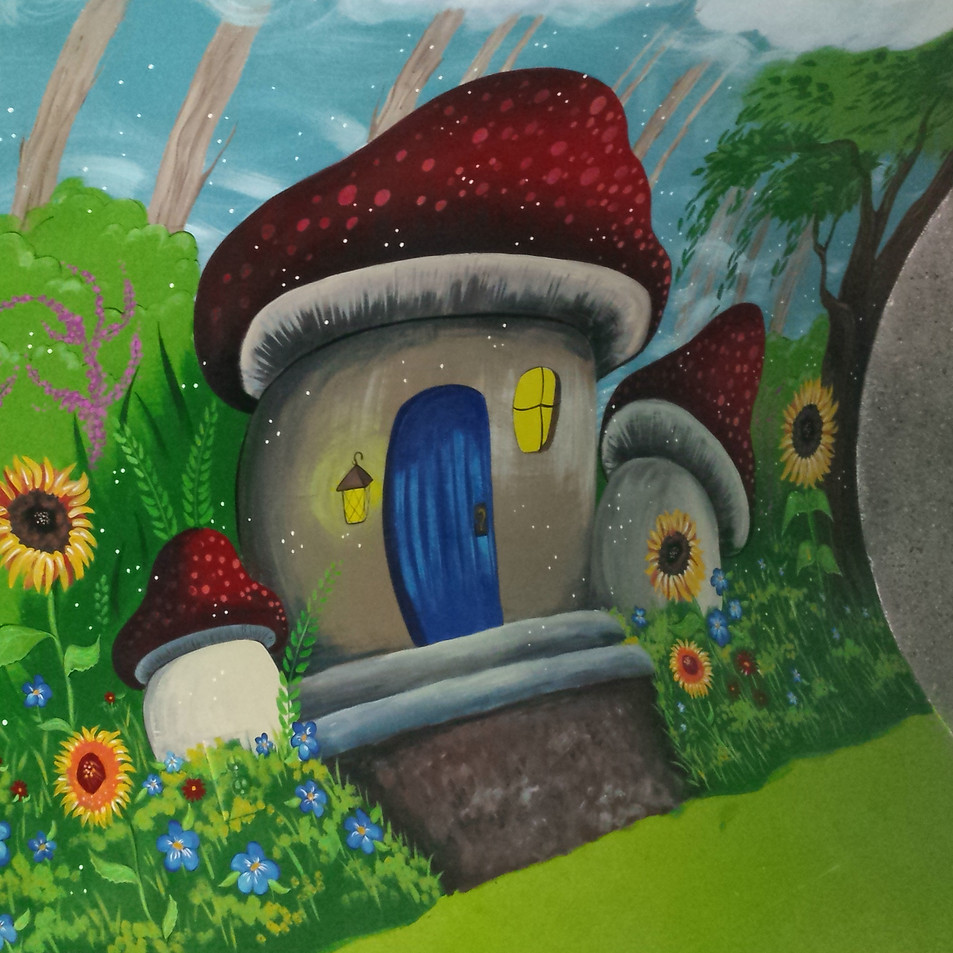 Hobby House mural