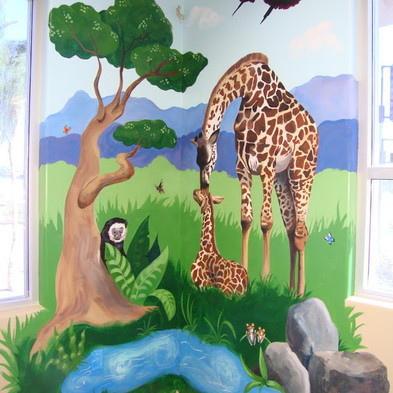 dentist mural