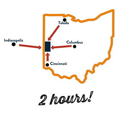 Darke County Ohio Map