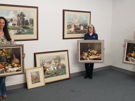 Park donates Brubaker paintings to DCCA; to be displayed at Garst