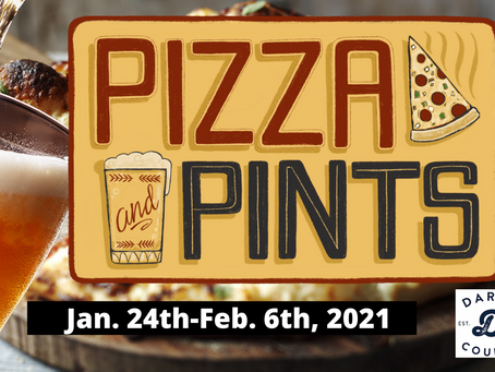 Enjoy a Pizza & Pint beginning Jan. 24