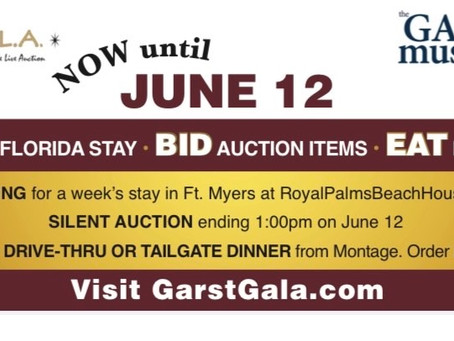 Garst has great prizes for Annie's GALA