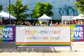 Higher Love Pride Tea Dance welcomes you.