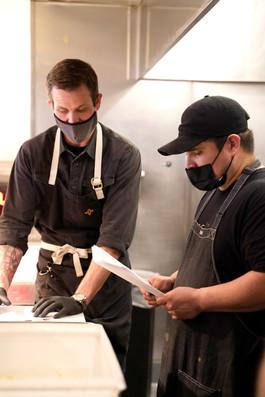 Chef Devon & his Team