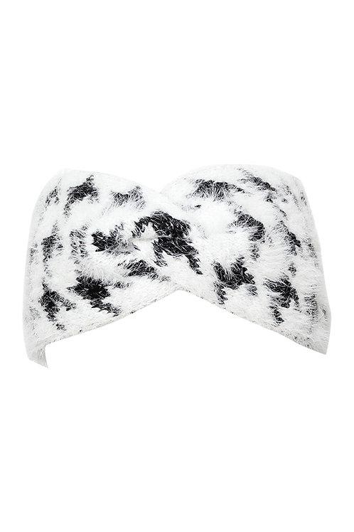 Houndstooth Headband   One Size