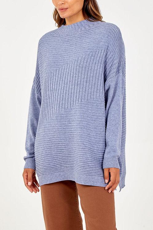 Rib Knit Jumper | One Size