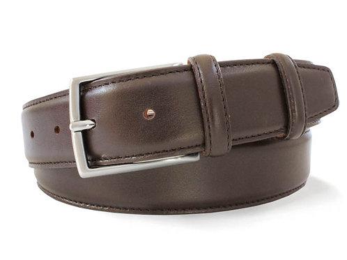 ROBERT 3751 CHARLES  brown calf skin belt