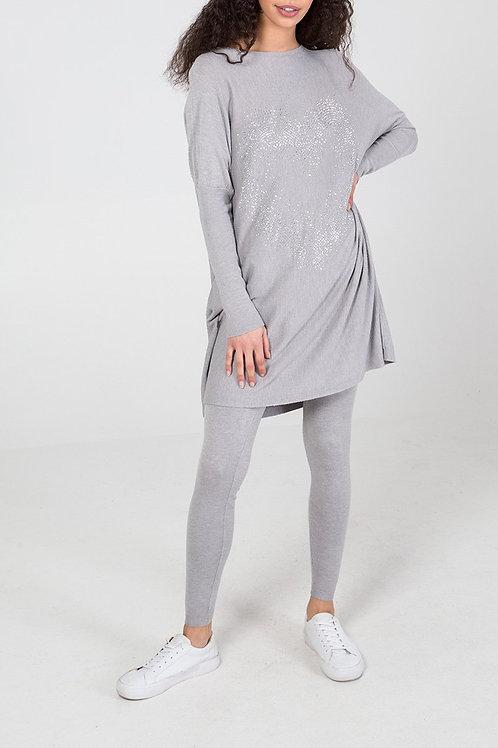 grey loungewear set