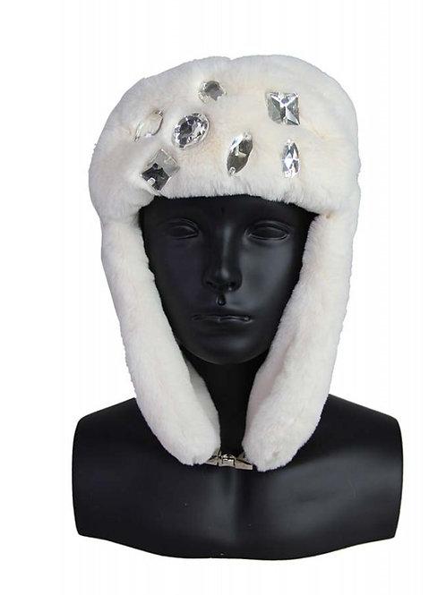 white russian fur hat