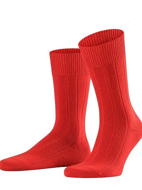falke lhasa red socks