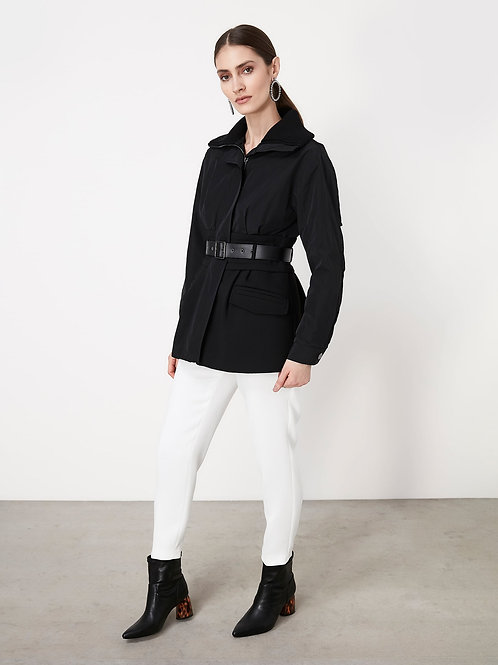 structured parka