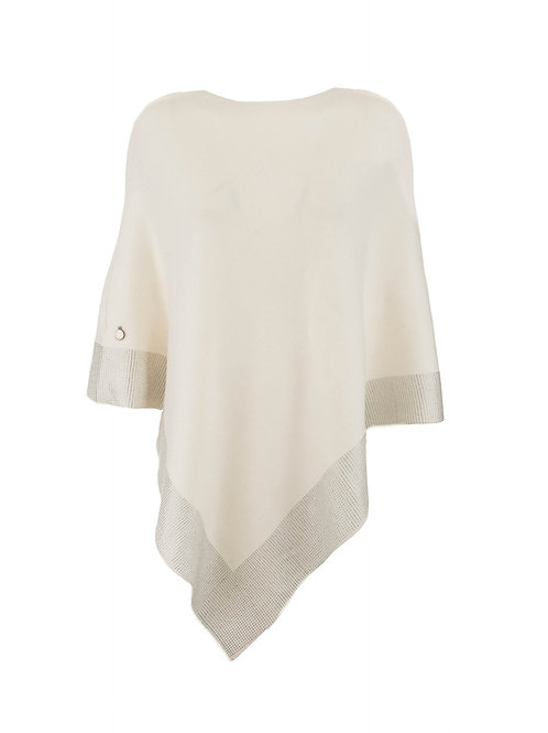 Luxe Crystalised Poncho