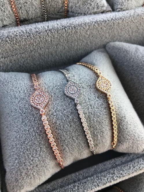 Crystal Stacking Bracelet | 3 Colours