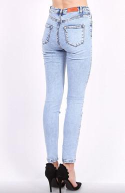 Toxik 3 Jeans | L185-J32 Acid Wash High Waisted Super Stretch Jeans