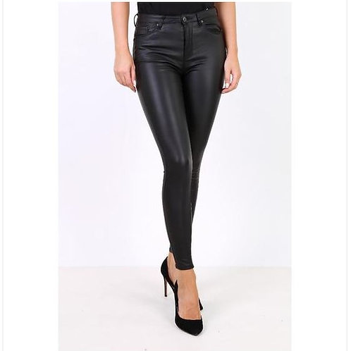 toxik leather jeans