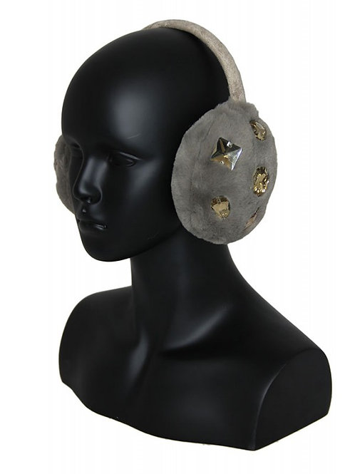 crystal embellished ear muffs
