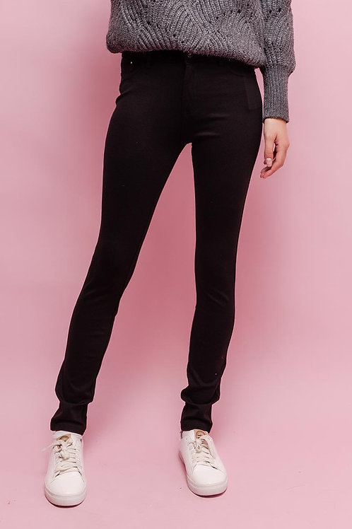 Miss Anna Trouser Leggings (Treggings) Black