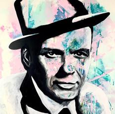 "Frank Sinatra 33"" x 24"""