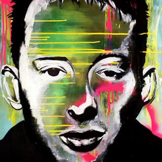 "Thom Yorke 35"" x 22.5"""