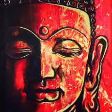 """Buddha 56"""" x 48"""""""