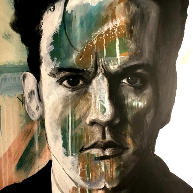 "Michael Stipe 34"" x 22.5"""