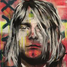 """Kurt Cobain 22"""" x16"""""""