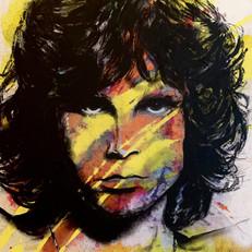 """Jim Morrison 22"""" x 16"""""""