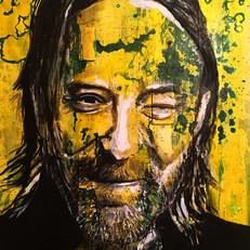 "Thom Yorke 34"" x 24"""